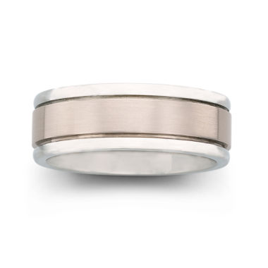 jcpenney.com |  Mens Titanium Comfort Fit Wedding Band
