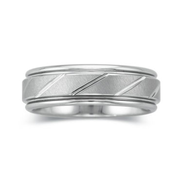 jcpenney.com |  Mens 7mm Tungsten Carbide Comfort Fit Wedding Band