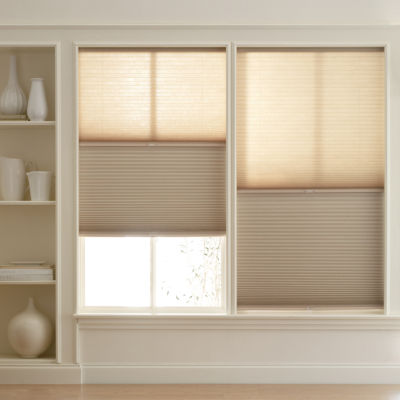 cordless cellular shades. JCPenney Home™ Room Darkening Day/Night Cordless Cellular Shade - FREE SWATCH Shades