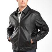 St. John's Bay® Nappa Leather Jacket