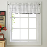 Adirondack Rod-Pocket Tailored Valance