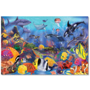 Melissa & Doug® 48-pc. Underwater Floor Puzzle