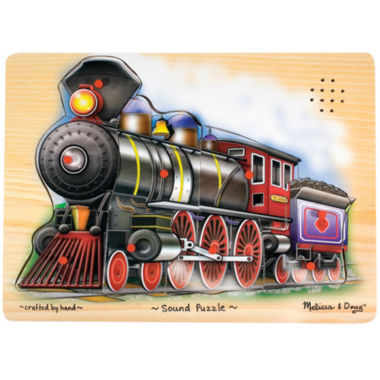 jcpenney.com | Melissa & Doug® Train Sound Puzzle