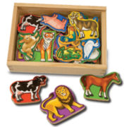 Melissa & Doug® Magnetic Wooden Animals
