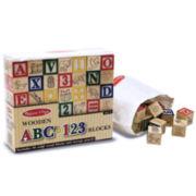 Melissa & Doug® 50-pc. Deluxe Wooden Block Set
