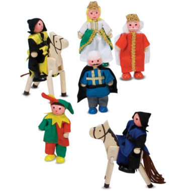 jcpenney.com | Melissa & Doug® Castle Wooden Figure Set