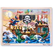 Melissa & Doug® 48-pc. Deluxe Wooden Pirate Puzzle