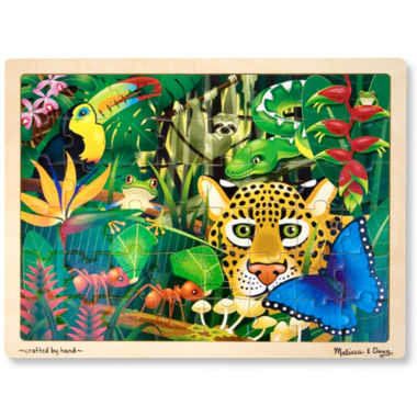 jcpenney.com | Melissa & Doug® 48-pc. Wooden Rainforest Puzzle
