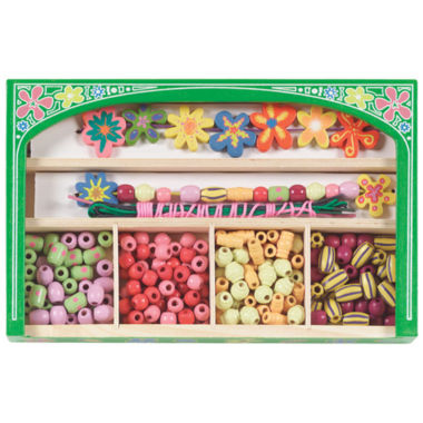 jcpenney.com | Melissa & Doug® Flower Power Wooden Bead Set