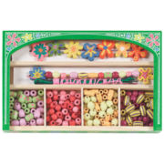 Melissa & Doug® Flower Power Wooden Bead Set