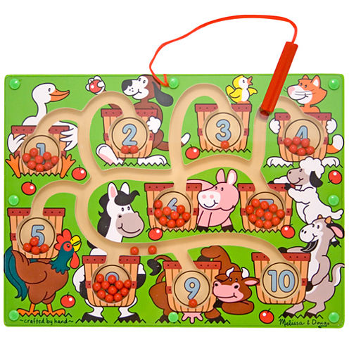 Melissa & Doug® Magnetic Number Toy Maze