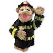 Melissa & Doug® Firefighter Puppet