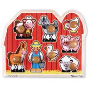 Melissa & Doug® Jumbo Farm Animal Puzzle