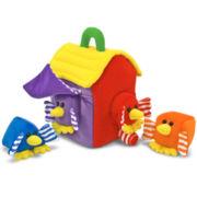 Melissa & Doug® Shape Sorter Bird House