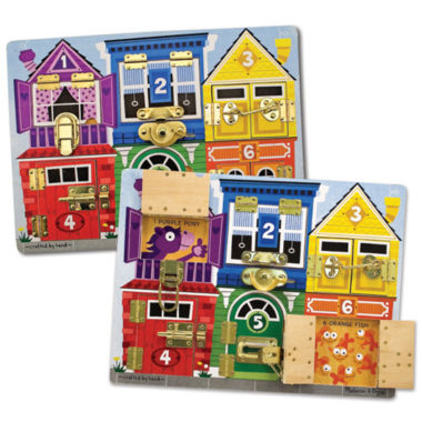 jcpenney.com | Melissa & Doug® Latches Learning Board