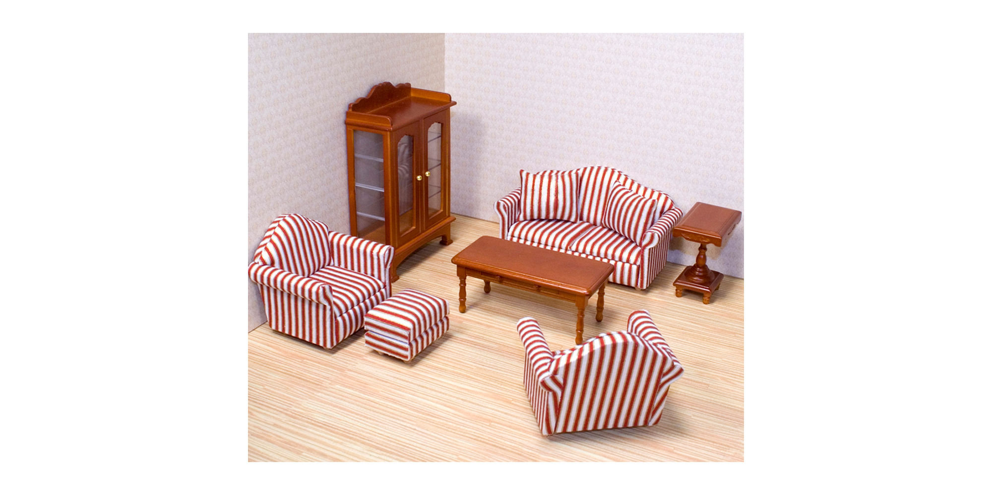 Melissa & Doug Living Room Dollhouse Furniture