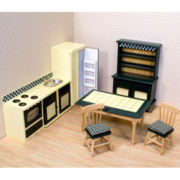 Melissa & Doug® Doll Furniture Kitchen Set