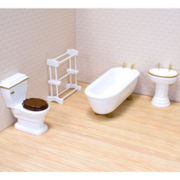 Melissa & Doug® Bathroom Doll Furniture