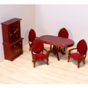 Melissa & Doug® Dining Room Dollhouse Furniture