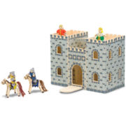 Melissa & Doug Fold and Go Wood Castle