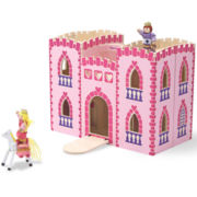 Melissa & Doug® Fold & Go Princess Castle