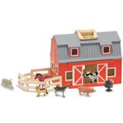 Melissa & Doug® Fold & Go Play Barn