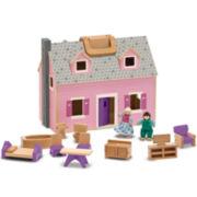 Melissa & Doug® Fold & Go Dollhouse