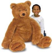 Melissa & Doug® Jumbo Brown Plush Teddy Bear