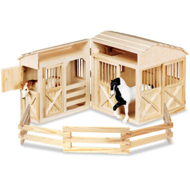 jcpenney.com | Melissa & Doug® Folding Toy Stable