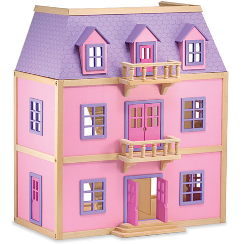 Melissa & Doug® Wooden Multi-Level Dollhouse