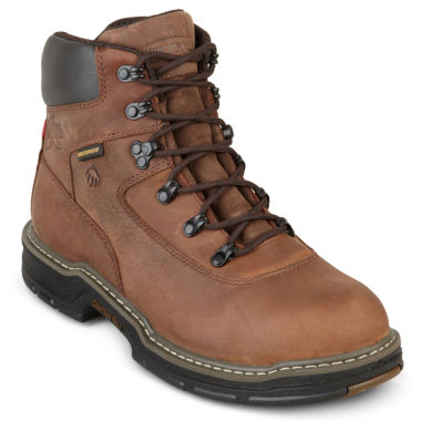 "jcpenney.com | Wolverine® Marauder 6"" Thinsulate Steel-Toe Mens Work Boots"