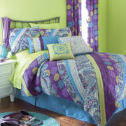 Chelsea Paisley Quilted Sham