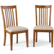 Riley's Corner Set of 2 Upholstered Side Chairs