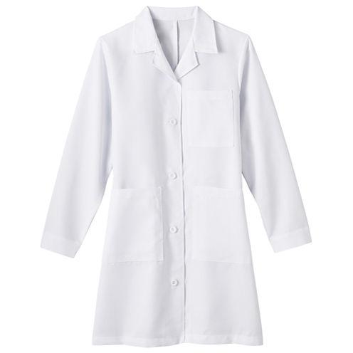 Fundamentals by White Swan Meta Ladies 5-Pocket Lab Coat - Big & Tall