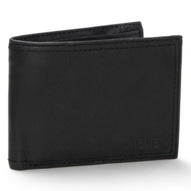 jcpenney.com | Levi's® Black Traveler Wallet