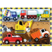 Melissa & Doug® Chunky Wooden Construction Puzzle