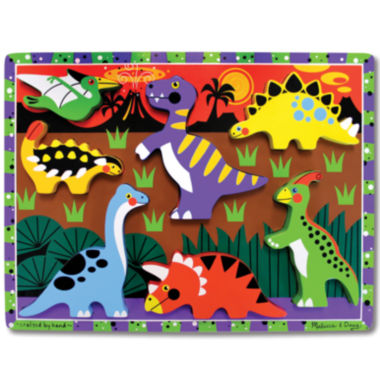 jcpenney.com | Melissa & Doug® Dinosaurs Chunky Wooden Puzzle