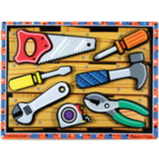 Melissa & Doug® Chunky Wooden Tools Puzzle
