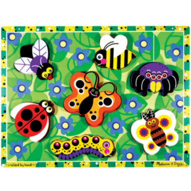 jcpenney.com | Melissa & Doug® Chunky Wooden Insects Puzzle