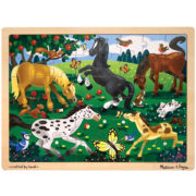 Melissa & Doug® 48-pc. Wooden Horses Puzzle