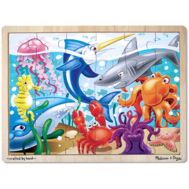 jcpenney.com | Melissa & Doug® 24-pc. Under the Sea Puzzle