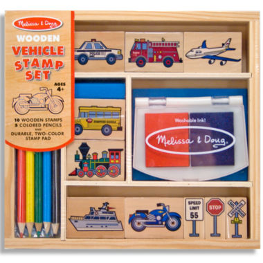 jcpenney.com | Melissa & Doug® Vehicle Stamp Set