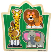 Melissa & Doug® Jumbo Knob Pieces Jungle Puzzle