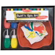 Melissa & Doug® Swirl 'n' Spin Art Set