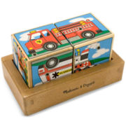 Melissa & Doug® Vehicles Sound Blocks