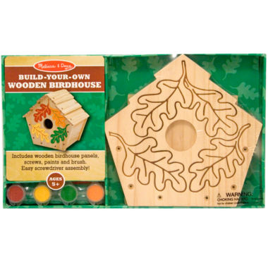 jcpenney.com | Melissa & Doug® Build-Your-Own Wooden Birdhouse
