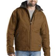 Dickies® Hooded Lined Work Jacket