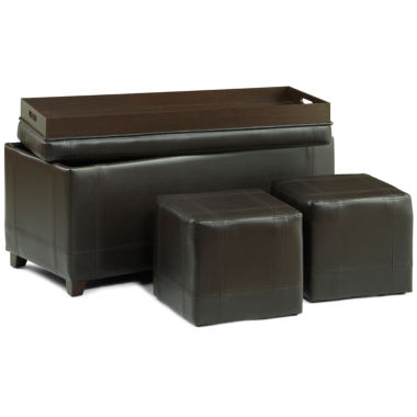 jcpenney.com | 3-pc. Storage Ottoman