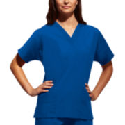 Cherokee® Workwear® Womens V-Neck Top