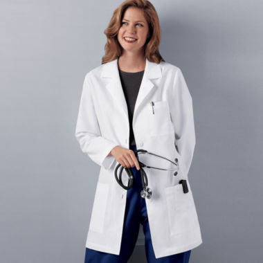 "jcpenney.com | Cherokee® Womens 32"" Lab Coat"